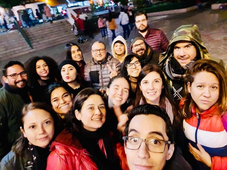 Selfie de grupo